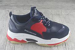 Кроссовки, кеды под Вalenciaga, обувь женская из эко кожи, спортивная, повседневная