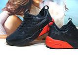 Мужские кроссовки Puma Ronnie Fieg HIghsnobiety RF698 (реплика) черно-красные 46 р., фото 4