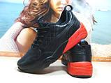 Мужские кроссовки Puma Ronnie Fieg HIghsnobiety RF698 (реплика) черно-красные 46 р., фото 5