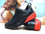Мужские кроссовки Puma Ronnie Fieg HIghsnobiety RF698 (реплика) черно-красные 46 р., фото 7