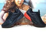 Мужские кроссовки Puma Ronnie Fieg HIghsnobiety RF698 (реплика) черно-красные 46 р., фото 10
