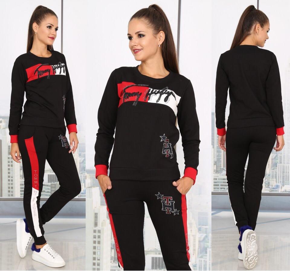 6c9347c8 Гламурный спортивный костюм женский Турция — купить недорого в ...