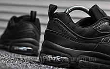 Кроссовки мужские черные Nike Air Max 98 Supreme Triple Black (реплика), фото 2