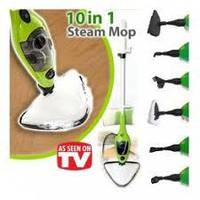 Паровая швабра пароочиститель Steam Mop X10, фото 1