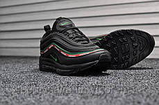 Кроссовки мужские черные Nike Air Max 97 Black (реплика), фото 2