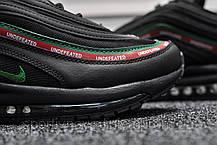 Кроссовки мужские черные Nike Air Max 97 Black (реплика), фото 3
