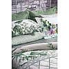 Постельное белье Tac сатин Digital - Patriot v01 yesil зеленый семейн, фото 2