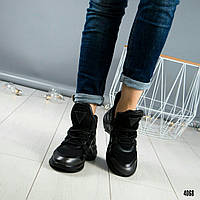 """Кроссовки в стиле """"LV"""" черные, фото 1"""