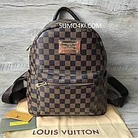 Женский рюкзак Louis Vuitton шашка, фото 1