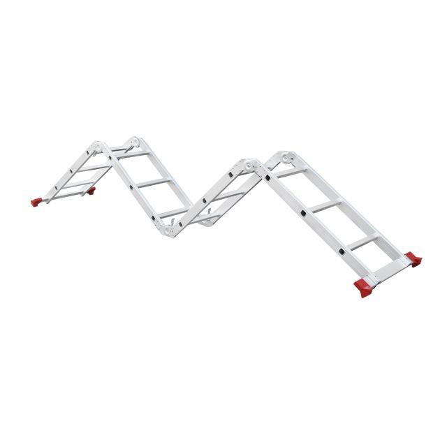 Лестница алюминиевая мультифункциональная трансформер INTERTOOL LT-0030