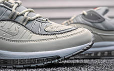 Кроссовки мужские белые Nike Air Max 98 Supreme Milk (реплика), фото 3
