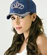 Кепка Женская со Стразами Бейсболка, фото 7
