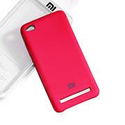Силиконовый чехол на Xiaomi Redmi 5A Soft-touch Rose