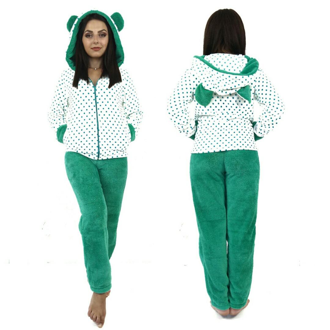 bc13dd13df80d Пижама женская махровая с ушками Турция - Оптовый интернет-магазин