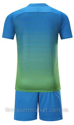 Футбольна форма для команд Europaw 013 синьо-зелена (Репліка), фото 2