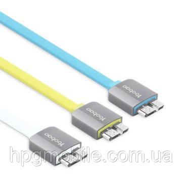 Кабель USB 3.0 для Samsung Note 3/i9600 S5 - YOOBAO Colourful flat cable YB-404