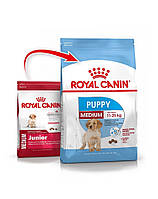 Сухий корм для собак ROYAL CANIN Medium junior  puppy15 кг, фото 1