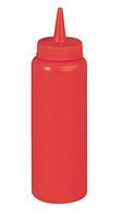 Бутылка для соуса 350мл КРАСНАЯ, d-55мм, h-210мм Stalgast 065351