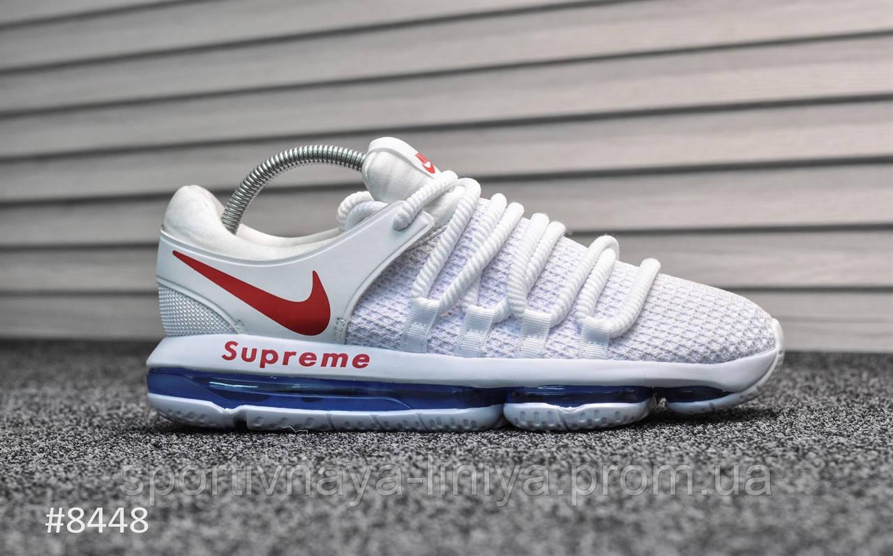 Кроссовки мужские белые Nike Air Max 98 Supreme White (реплика)