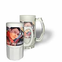 Пивной бокал, печать изображений на бокалах в Днепропетровске