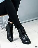 """Женские демисезонные ботинки с эффектом """"носка"""", фото 6"""