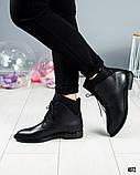 """Женские демисезонные ботинки с эффектом """"носка"""", фото 7"""