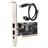 Контроллер PCI IEEE 1394 FireWire c кабелем 6-4