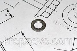 Шайба Ф20 плоска DIN 125 із сталі А2