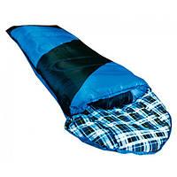 Спальный мешок зимний Tramp NightLife индиго/черный TRS-046-R