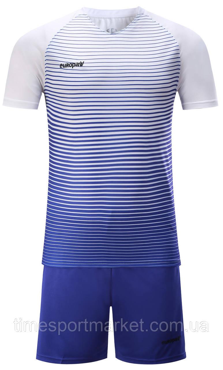 Футбольна форма для команд Europaw 013 біло-синя (Репліка)