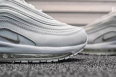 Кроссовки мужские белые Nike Air Max 97 White (реплика), фото 3
