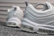 Кроссовки мужские белые Nike Air Max 97 White (реплика), фото 2
