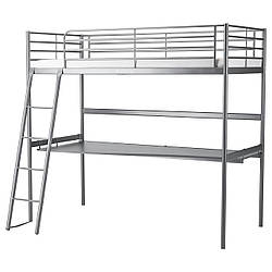 IKEA SVARTA (591.512.71) Кровать-чердак