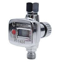 Регулятор давления с цифрововым манометром INTERTOOL PT-1424, фото 1