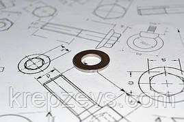 Шайба Ф27 плоска DIN 125 із сталі А2