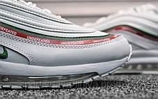 Кроссовки мужские белые Nike Air Max 97 Undefeated White (реплика), фото 2