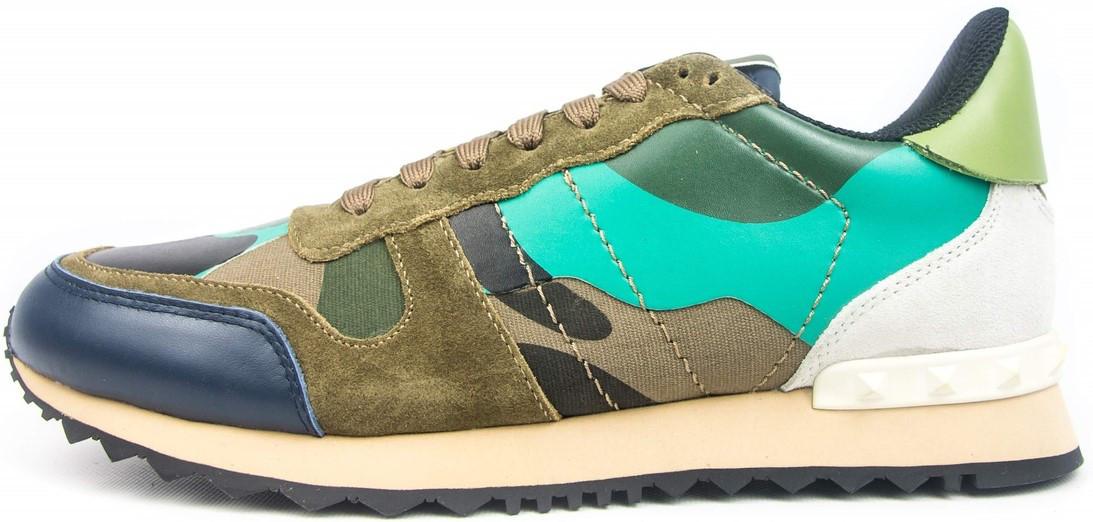 Мужские кроссовки Valentino Garavani (Валентино) разноцветные