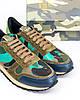 Мужские кроссовки Valentino Garavani (Валентино) разноцветные, фото 3