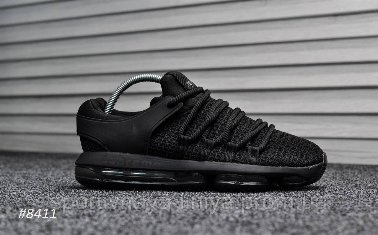 info for 1546d 6a76b Кроссовки мужские черные Nike Air Max 98 Supreme Triple Black (реплика)