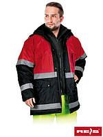 Зимняя куртка с отражающими полосками REIS BLUE RED., фото 1