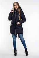 Модная зимняя женская куртка с капюшоном