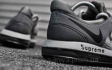 Кроссовки мужские серые Nike Air Max 98 Supreme Silver (реплика), фото 2