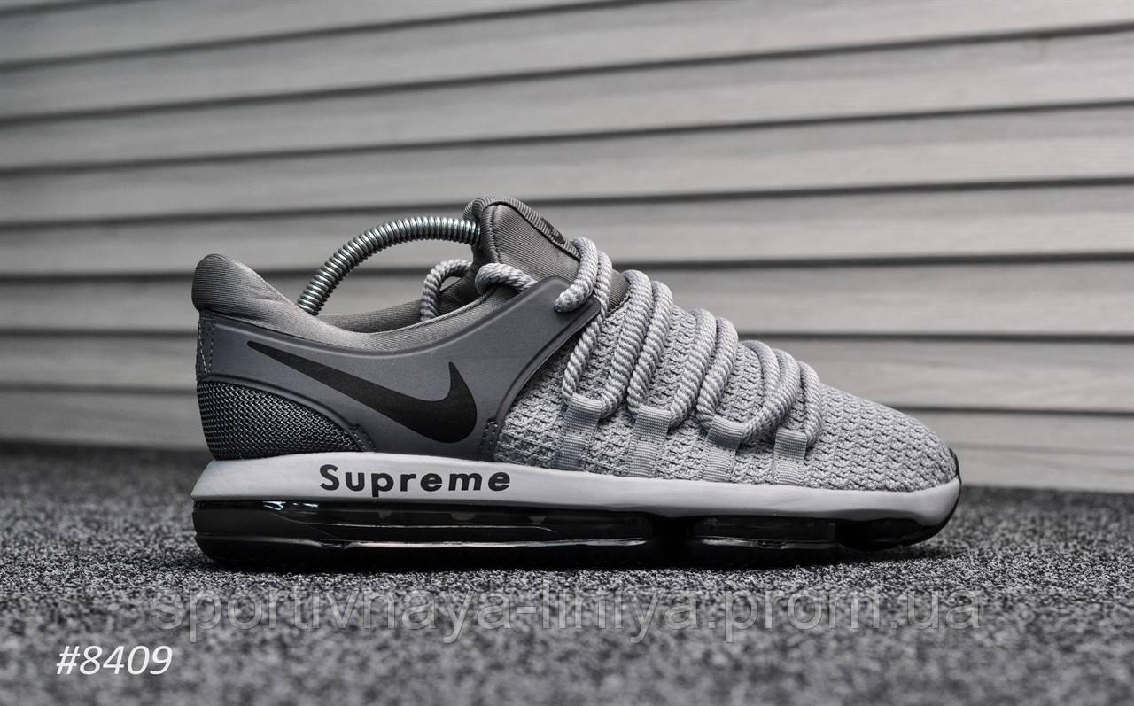 Кроссовки мужские серые Nike Air Max 98 Supreme Silver (реплика)