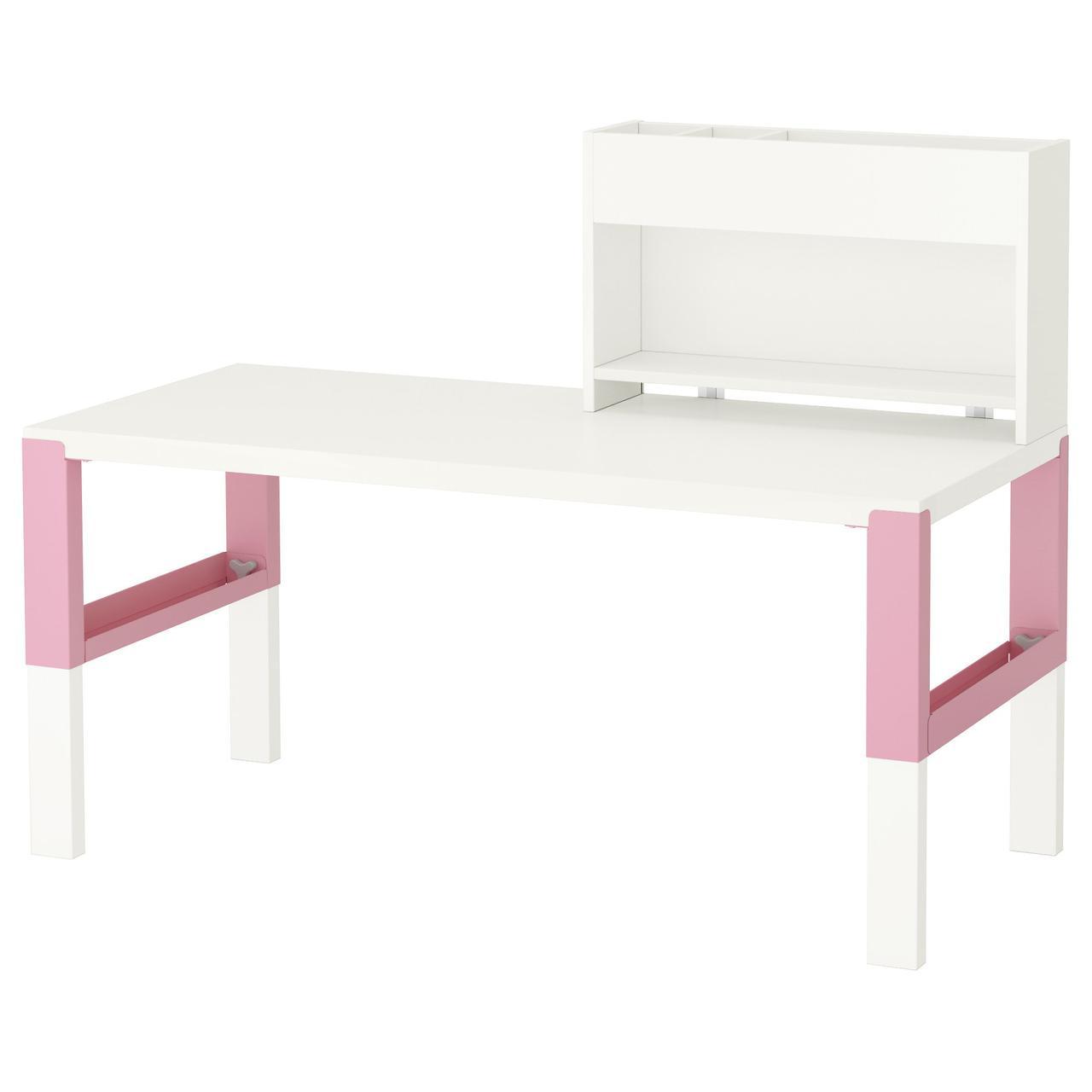 IKEA PAHL (891.289.67) Рабочий стол с и дополнительный модуль для стола