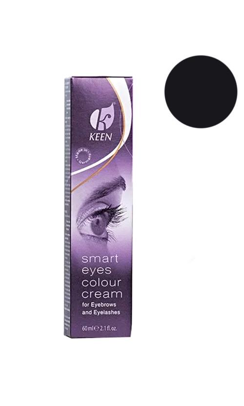 Keen Smart Eyes Colour Cream Крем - краска для бровей (чёрная)