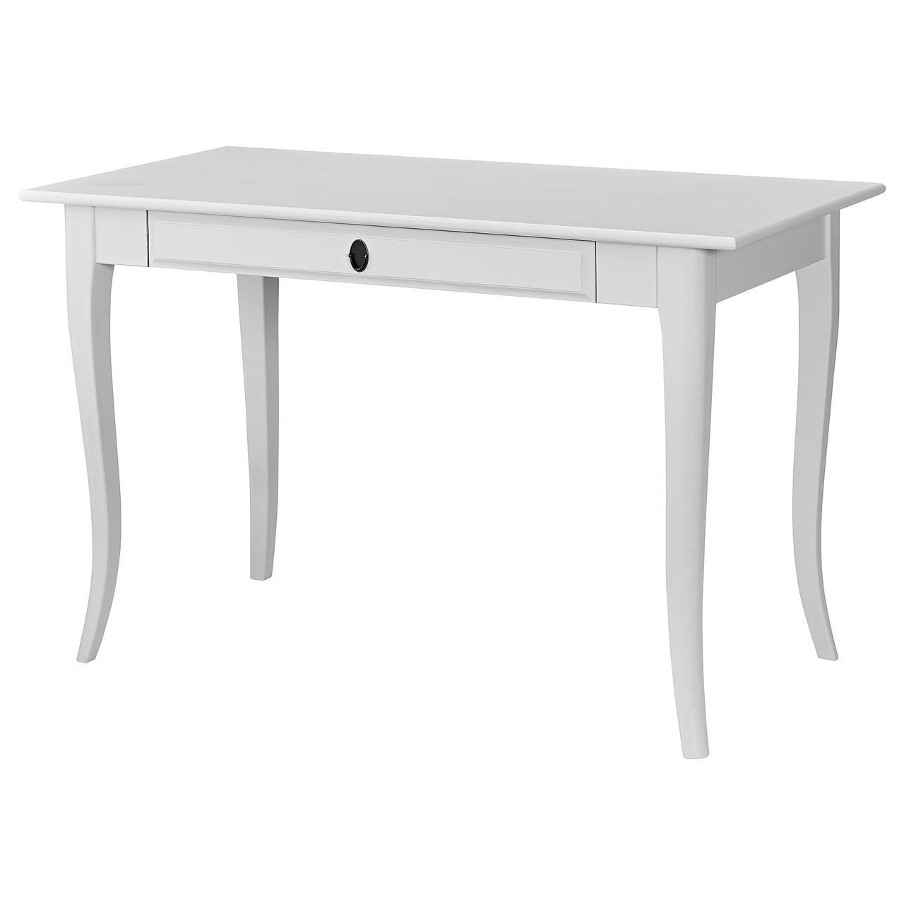 Ikea Leksvik 90394781 письменный стол белый в категории