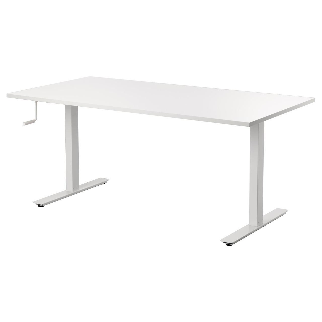Ikea Skarsta 29084966 письменный стол для сидениябелый в