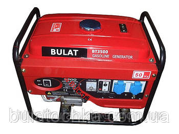 Генератор бензиновый BULAT BT3500 (2,8 кВт - 3,2кВт)