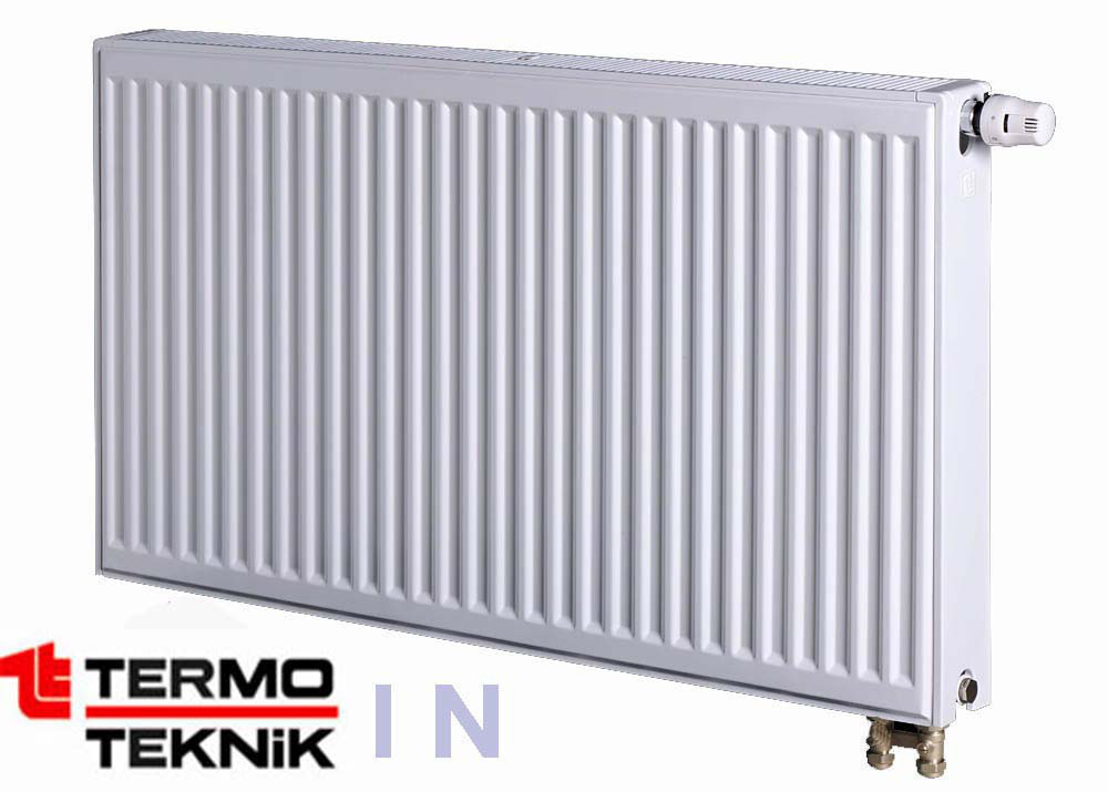 Стальной радиатор Termo Teknik 600x1200 , 22 тип, нижнее подключение
