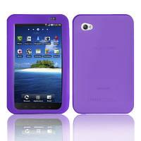 Cиликоновый чехол для Samsung Galaxy Tab P1000 Purple